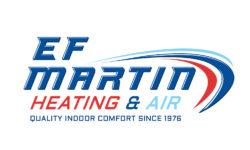 EF Martin Heating & Air Logo